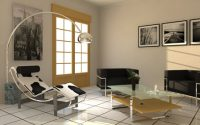Lampadaire design pour salon contemporain